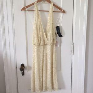 Aidan Mattox Ivory Bridal Dress NWT Size 4